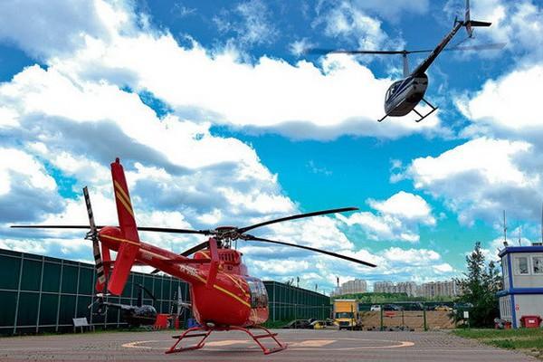 В МО построят три вертолетных центра