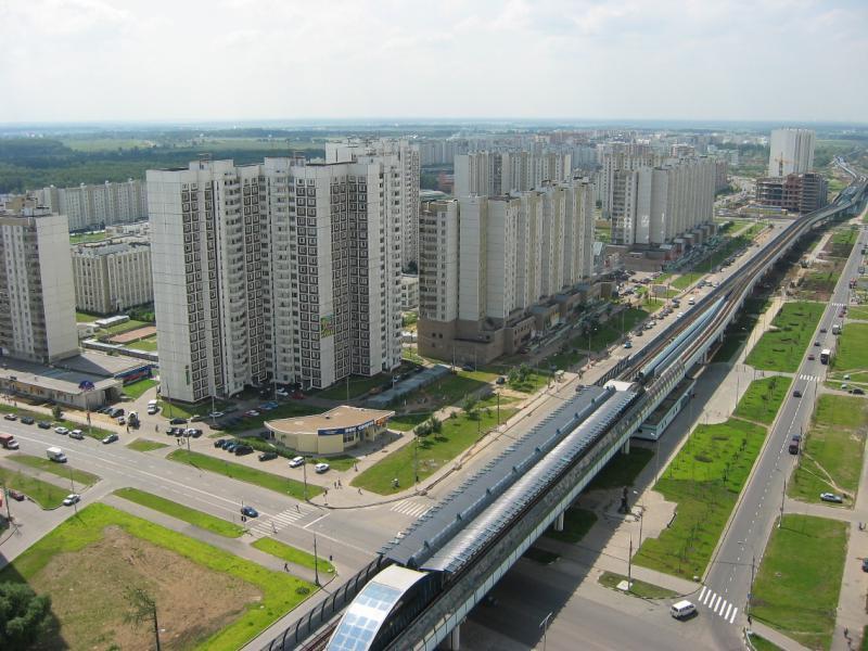 Южное Бутово возглавило рейтинг наиболее привлекательных для приобретения жилья районов