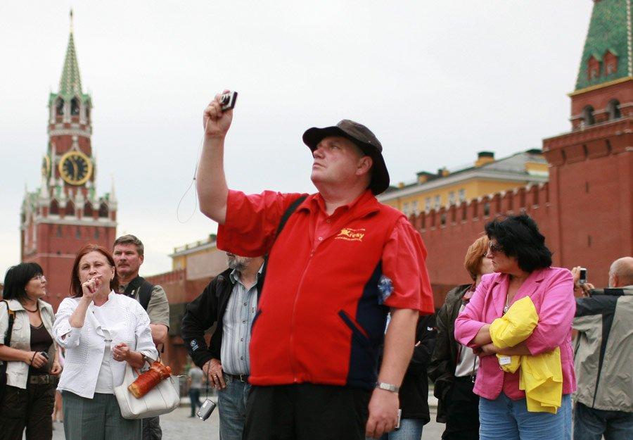 По итогам первого полугодия столицу РФ посетили 2,5 млн туристов