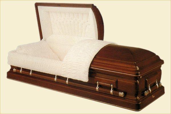 Новая услуга по аренде гроба скоро появится на столичном рынке ритуальных услуг