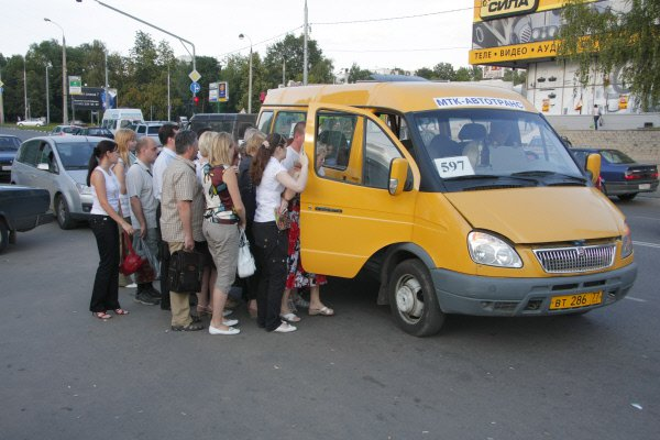 Столичный Департамент транспорта намерен отказаться от использования старых маршруток