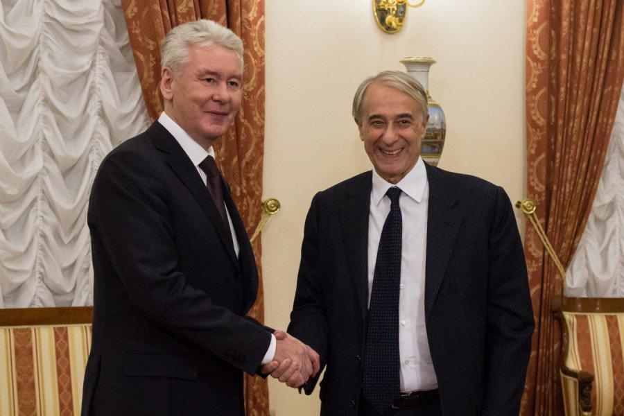 Столичный градоначальник принял участие в открытии форума «Москва — Италия»