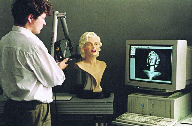 Система трехмерного сканирования будет представлена на форуме «Открытые инновации» в ВДНХ