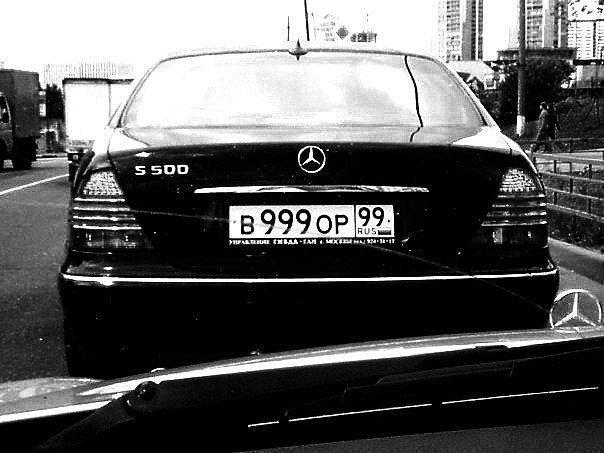Российские парламентарии намерены запретить использование автомобильных номеров «ВОР» и «ХАМ»