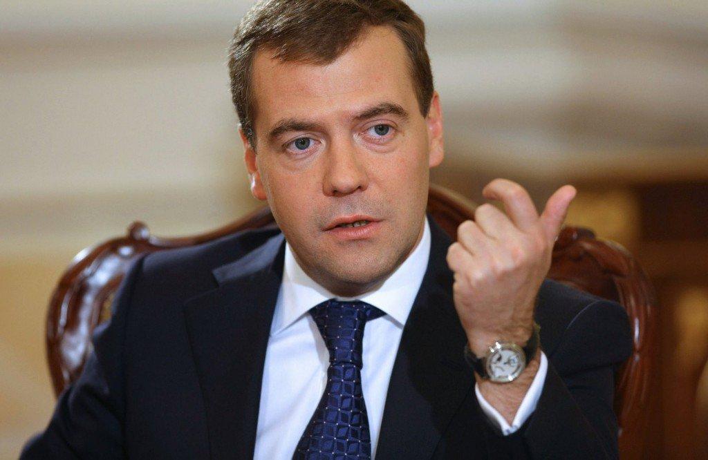 Медведев анонсировал введение экономических ограничений в отношении украинского государства