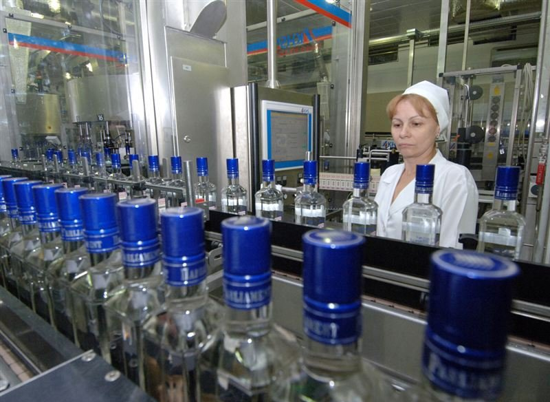 Алкогольная отрасль начала демонстрировать некоторые признаки оживления