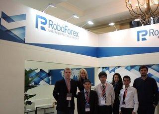 RoboForex рассказал о выставке