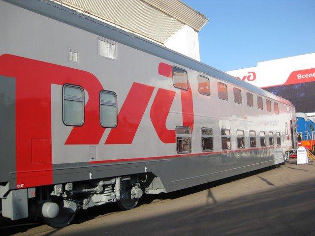 Двухэтажные железнодорожные составы начнут курсировать между Москвой и Ярославлем в следующем году