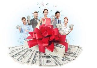 К Новому году GAINSY дарит 350% бонуса