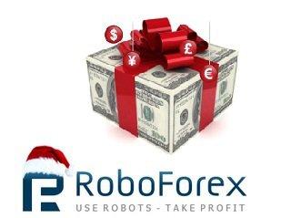 RoboForex раздаёт новогодние Форекс-бонусы