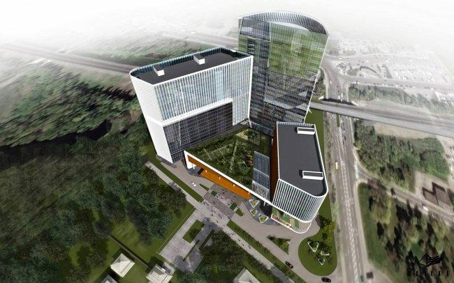 Окончание строительных работ по возведению китайского ДЦ «Парк Хуамин» откладывается