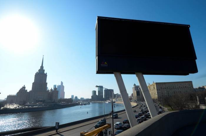 Расторжение контракта с «Олимпом» - индикатор проблем на рынке наружной рекламы