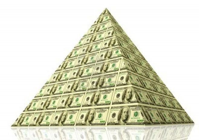 За рекламу финансовых пирамид предлагают карать рублем