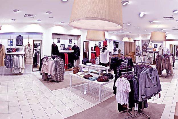 Магазины продолжают отказываться от модной одежды