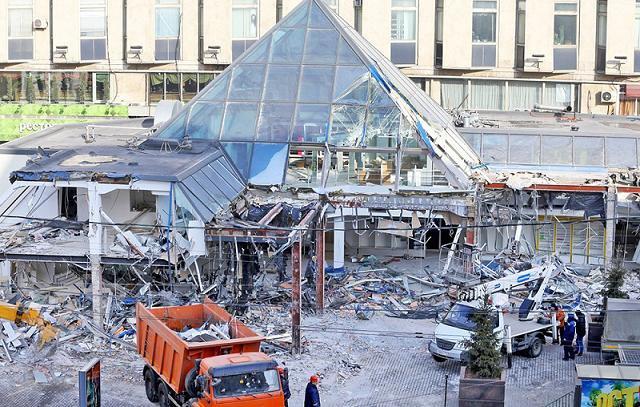 Львиная доля снесенных в Москве объектов в свое время имела отношение к криминальным структурам