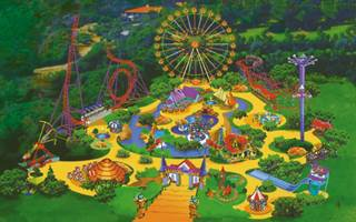 Парки развлечений и троллей от Rope Park