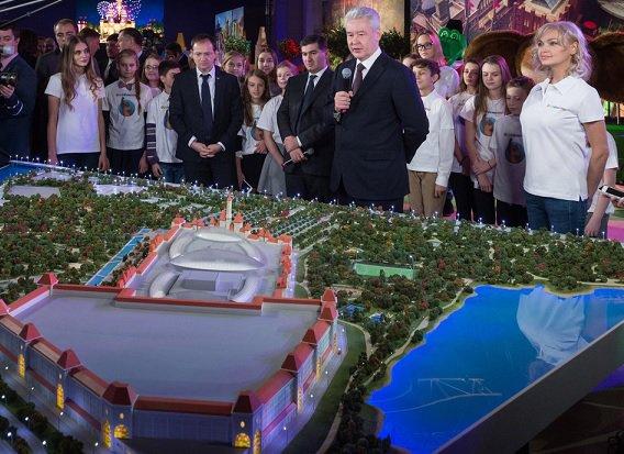 Начались строительные работы по возведению российского «Диснейленда»