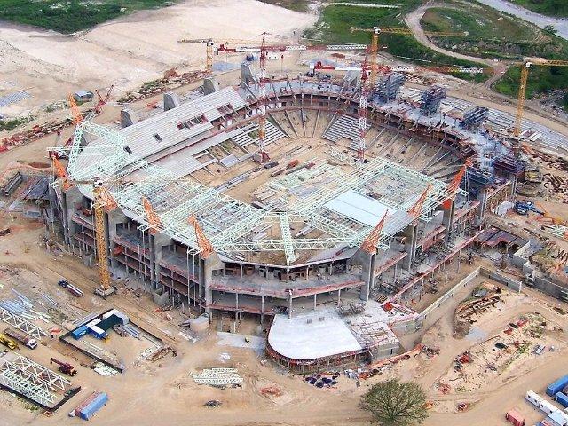 Правительство авансирует строительство стадионов к ЧМ