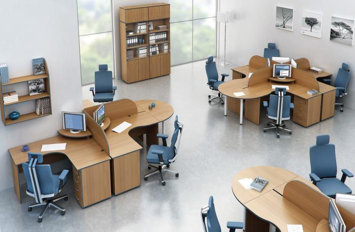 Офисная мебель Агат — один из лидеров продаж мебельного рынка