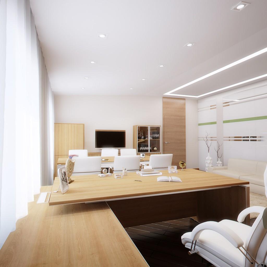 Дизайн офиса компании «ЭкоПром» (кабинет заместителя)