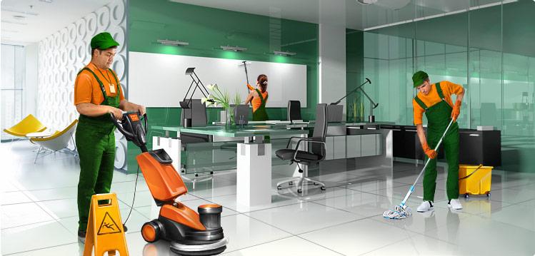 Клининговая компания: профессиональная уборка офисов