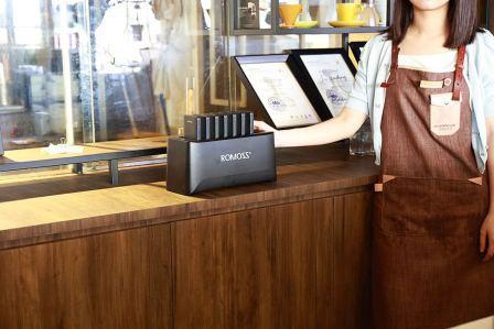 Компания Romoss начала поставки мобильных зарядных станций для сектора HoReCa