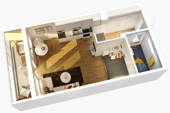 Квартира-студия – комфортное жилье. Преимущества для покупателя.