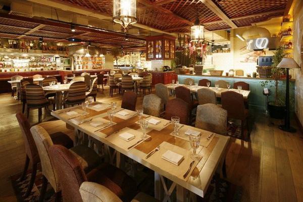 Московские торговые центры ставят на кафе и рестораны