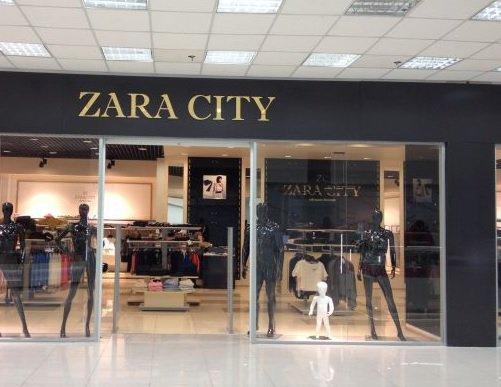 Российская сеть Zara City не имеет никакого отношения к бренду Zara