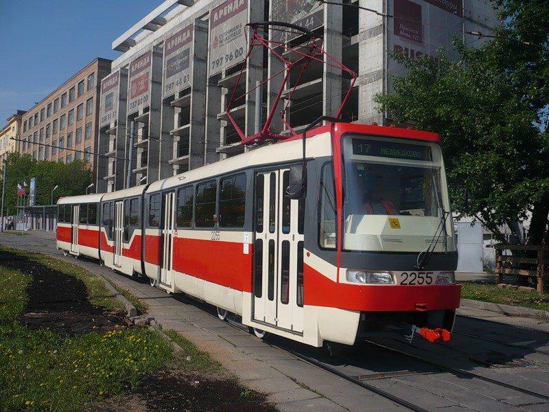 Москва активно закупает трамваи