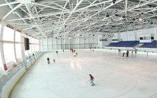 Строительство ледовой арены в Люберцах
