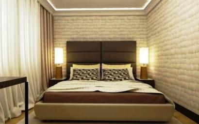 Оформление освещения в спальной комнате