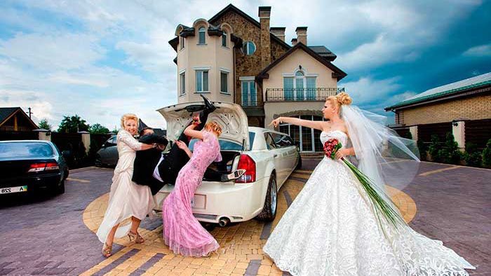 Коттедж – прекрасное место для проведения свадьбы