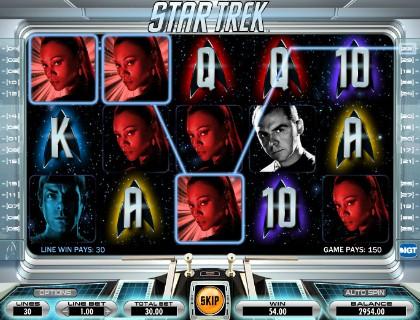 Игровые автоматы онлайн с героями сериала Star Trek