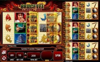 Увлекательный игровой слот Bruce Lee - Dragon's Tale