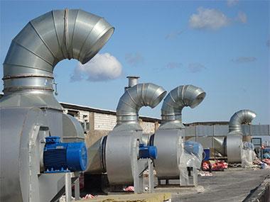 Где и как работают вентиляторы дымоудаления
