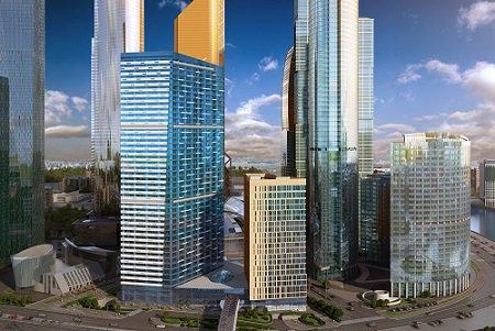 Новый офис Россельхозбанка в «Москва-Сити» обойдется ему в 12 млрд рублей