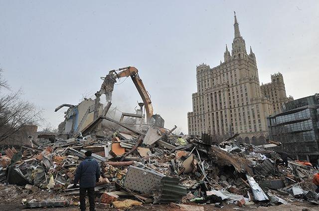 В Москве начинаются выплаты возмещений ущерба за снесенный самострой