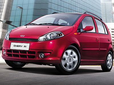 В России растут продажи автомобиля Chery