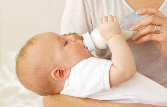 Адаптированная сухая смесь для здоровых детей