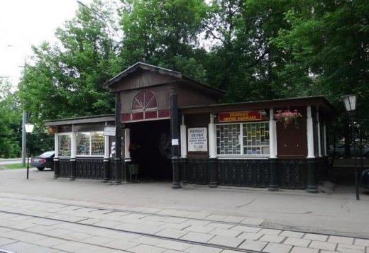 Один из старейших трамвайных павильонов переоборудуют в магазин