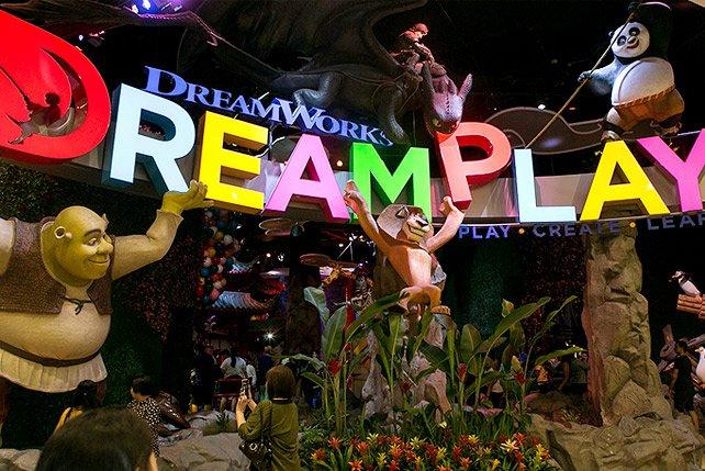 «Dreamworks» развернется в «Авиапарке»
