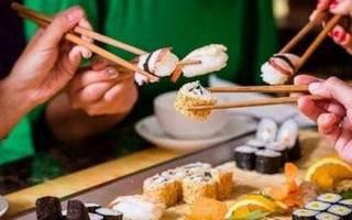 Где поесть суши без проблем и забот?
