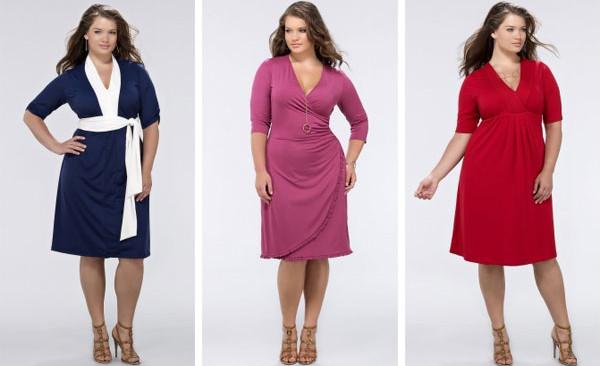 Особенности выбора одежды для полных женщин