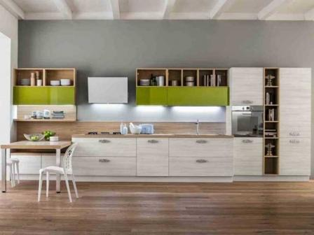 Итальянская кухня в стиле модерн - сочетание изысканности и практичности