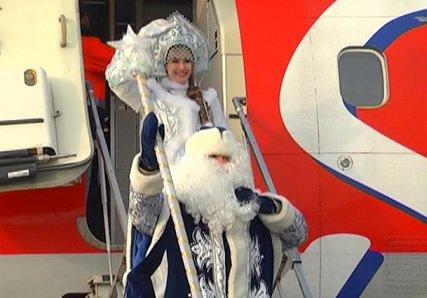 Деды Морозы и Снегурочки смогут бесплатно перевозить рюкзаки на воздушных судах «Победы»