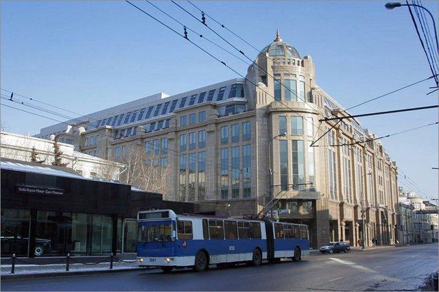 Здание Военторга отойдет российско-китайскому альянсу инвесторов