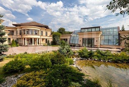Самый дорогой в стране особняк предлагается к торгу за 4,8 млрд рублей