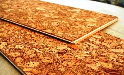 Использование пробкового покрытия