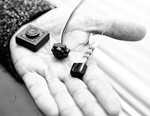 Поиск прослушивающих устройств в офисе